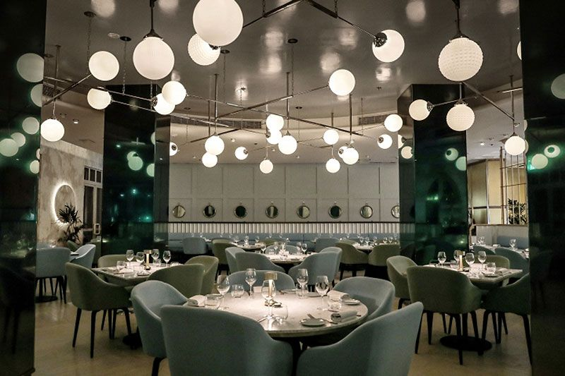 Restaurante The Atlantic Dubai