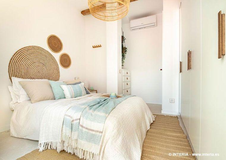 Dormitorio de estilo mediterráneo