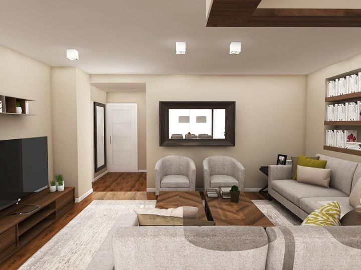 Proyecto de interiorismo de un ático en Madrid