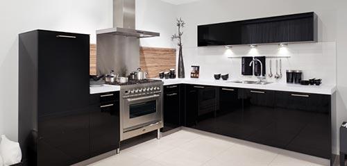 Uvormige keuken uit sGravenhage  Interieur inrichting