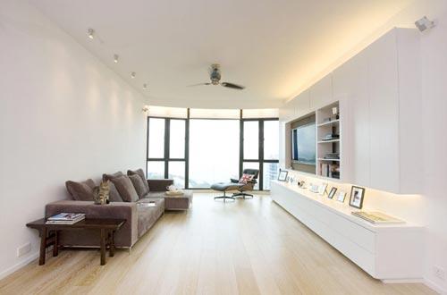 Moderne Woonkamer In Hong Kong Interieur Inrichting