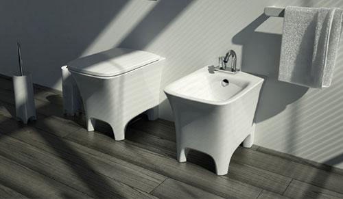 Klassieke moderne badkamer van Artceram  Interieur inrichting