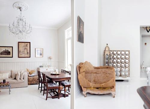 Vintage woonkamer inrichten  Interieur inrichting