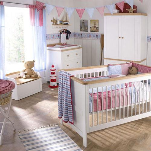 Baby slaapkamer inrichten  Interieur inrichting