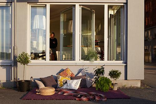 Balkon en terras inspiratie  Interieur inrichting
