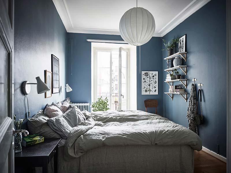 Blauw in interieur  Interieur inrichting