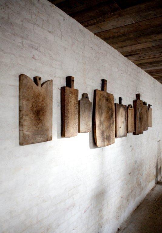 Broodplanken als decoratie  Interieur inrichting