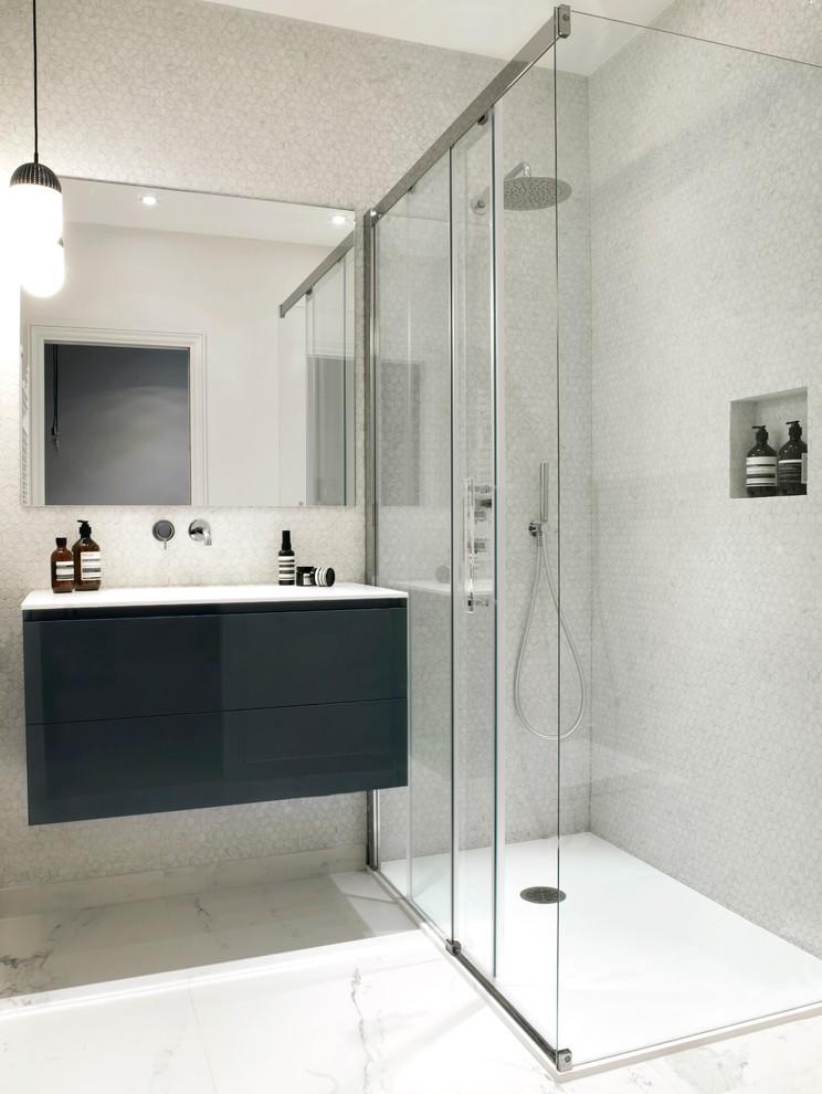 Kleine Badkamer  Interieur inrichting
