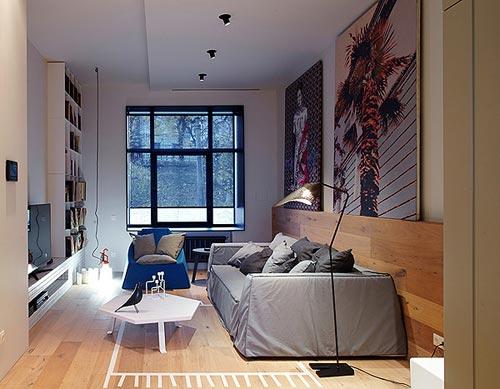 Moderne koloniale woonkamer  Interieur inrichting