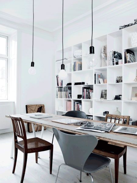 De mooiste werkplekken in huis  Interieur inrichting