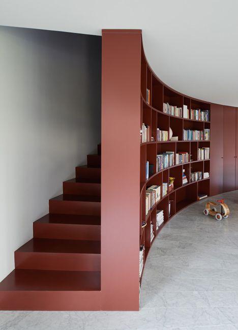 Gekleurde trappen  Interieur inrichting