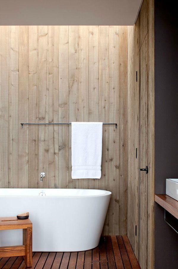 10x Houten muur in huis  Interieur inrichting