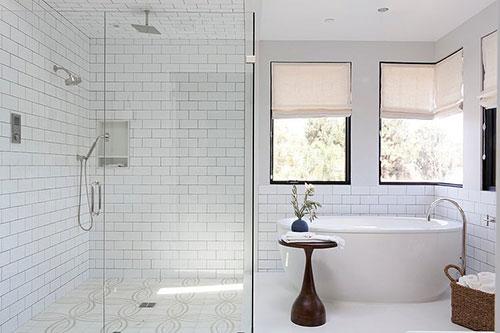Klassieke moderne badkamer  Interieur inrichting