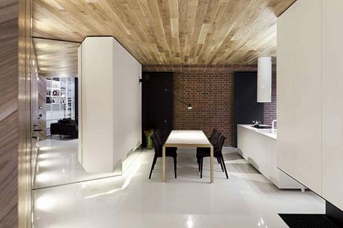 Loft appartement met moderne interieur ideen