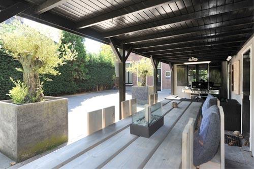 Luxe villa tuin  Interieur inrichting