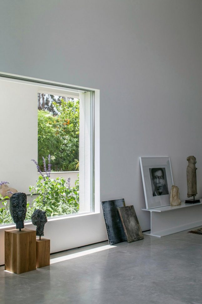 Moderne bohemien woonkamer  Interieur inrichting