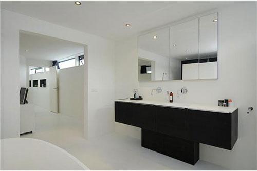 Moderne woonboot badkamer  Interieur inrichting