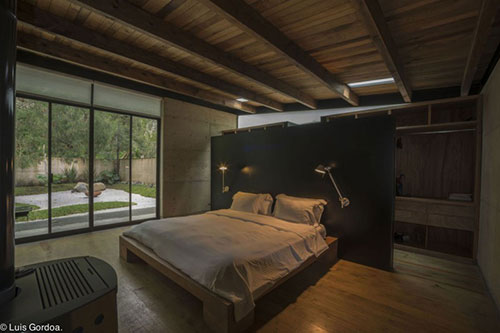 Natuurlijke stoere slaapkamer  Interieur inrichting