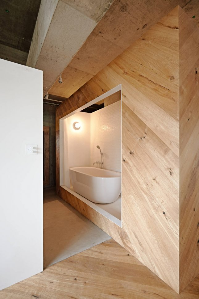 Open Japanse badkamer  Interieur inrichting