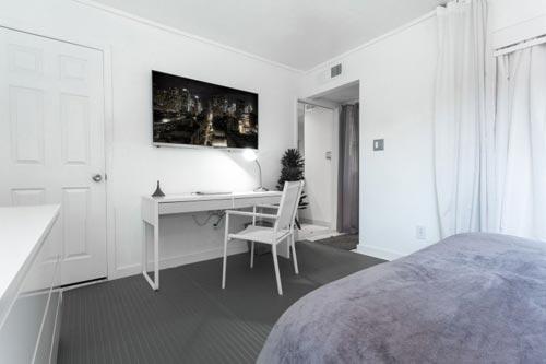 Praktische slaapkamer inrichting  Interieur inrichting
