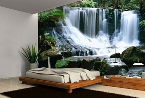 Slaapkamer Behang Idee