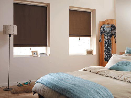 Slaapkamer gordijnen  Interieur inrichting