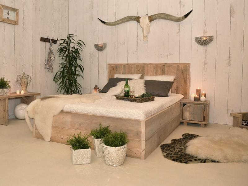 Steigerhouten meubelen blijven trendy  Interieur inrichting