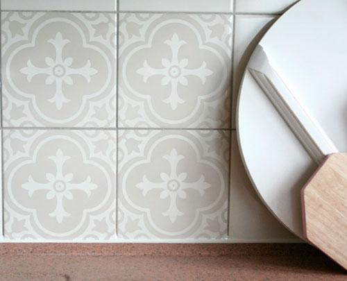 Tegelstickers handig goedkoop en mooi  Interieur