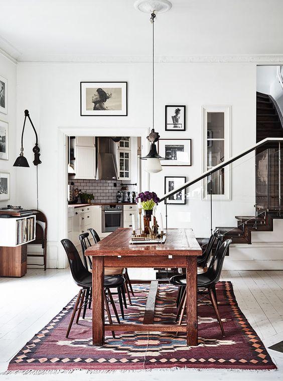 Vintage vloerkleden zijn hot  Interieur inrichting
