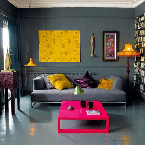 Wanddecoratie ideen voor de woonkamer onze tips