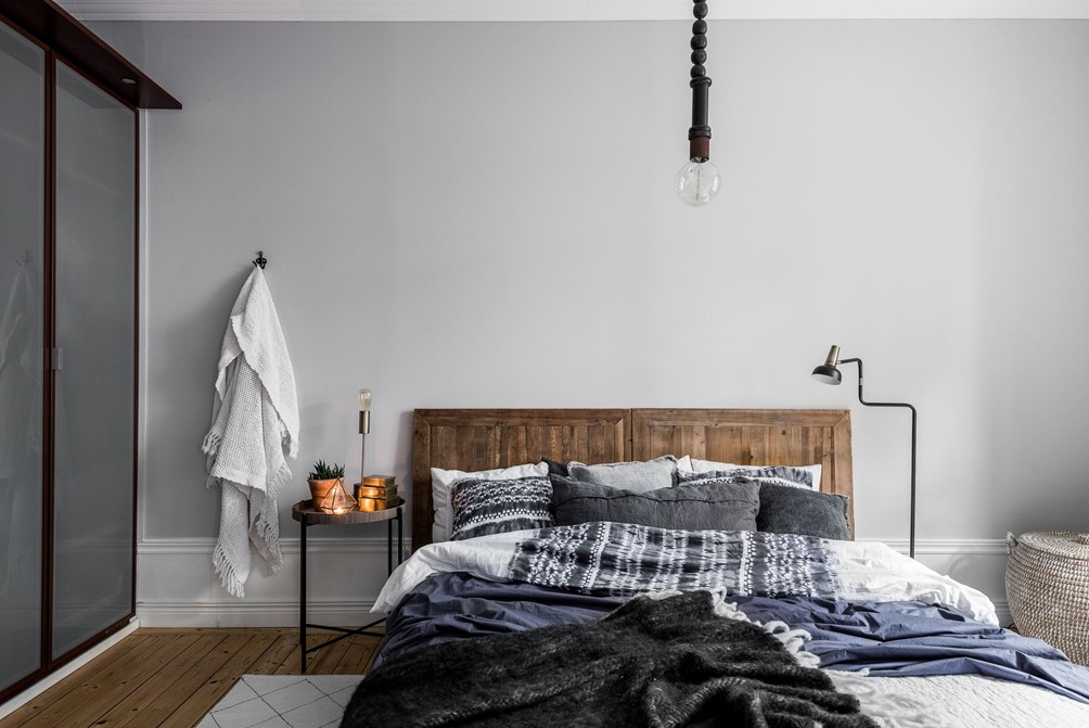 Warme knusse winter slaapkamer inrichten  Interieur