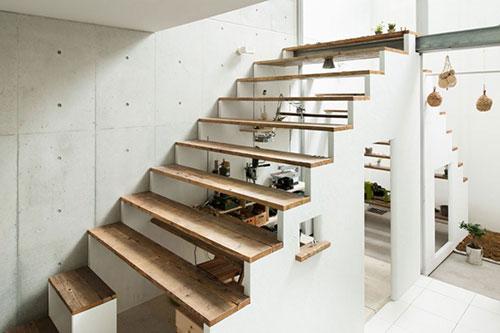 Werkplek onder de trap  Interieur inrichting