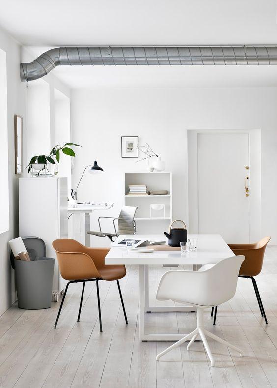 15x Werkplek in de woonkamer  Interieur inrichting