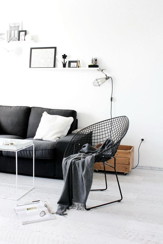 15x Zwart wit interieur  Interieur inrichting