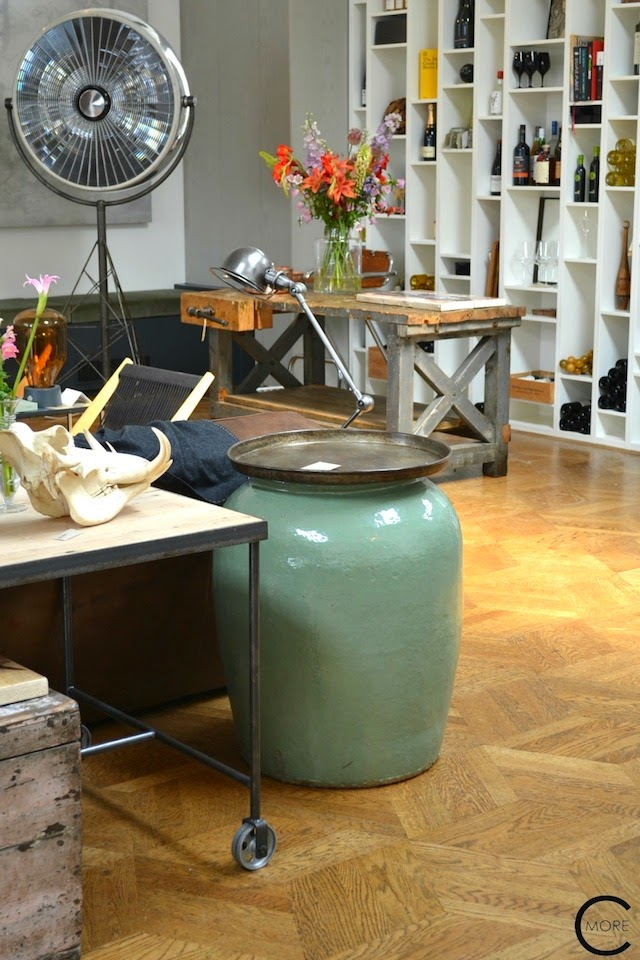House Tour: Industrial Eclectic Amsterdam Loft
