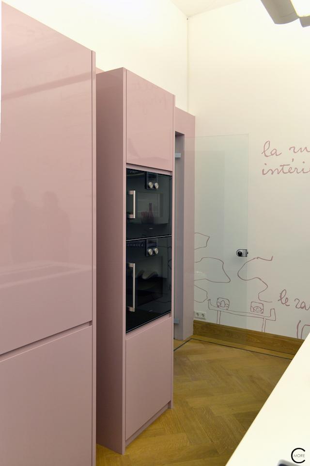 Vitra Design Kwartier Den Haag Studio van t Wout Kitchen Pink
