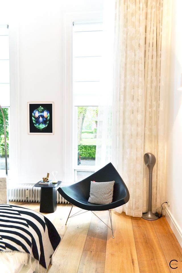 Vitra Design Kwartier Den Haag Studio van t Wout bedroom coconut chair
