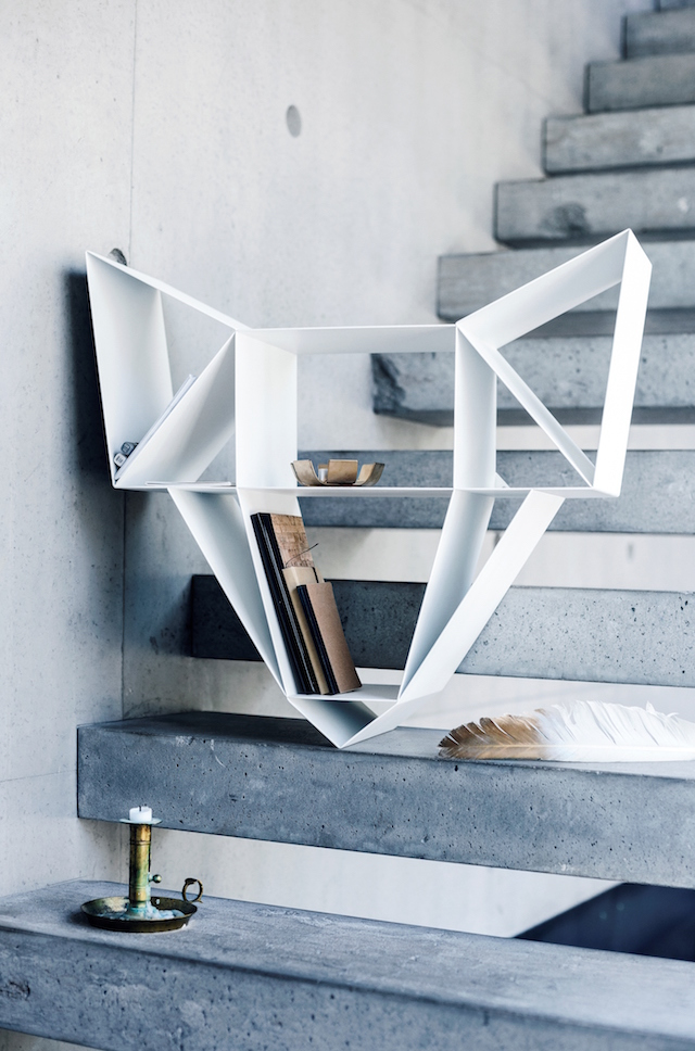 BEdesign | Wolf Shelf | metal | white