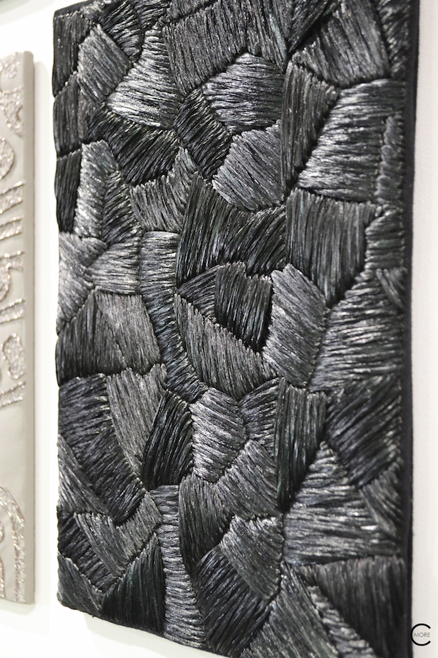 Black texture | Material Heaven | Fameed Hkalique London | visited with Modenus #LondonBlogtour #Designhounds | Luxury interior trend