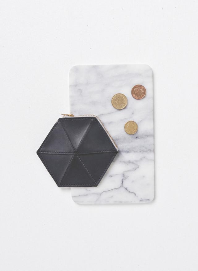 black leather purse | Coin Case by Zand Erover