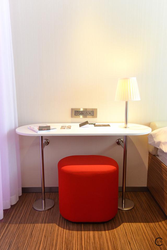 London CitizenM   Vitra   Hotel room