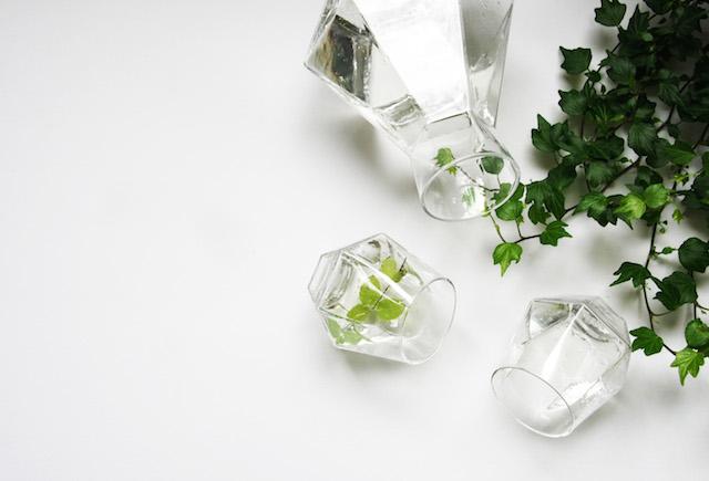 GiveAway | crystal | diamond shape | Radiant drinking glasses | Lara van der Lugt | Puik Art | C-More interieuradviesblog