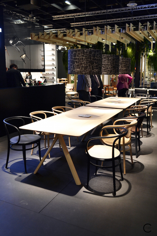 Thonet IMM Cologne 2016| Classic 209 + 214 | table 1060 | picture by C-More
