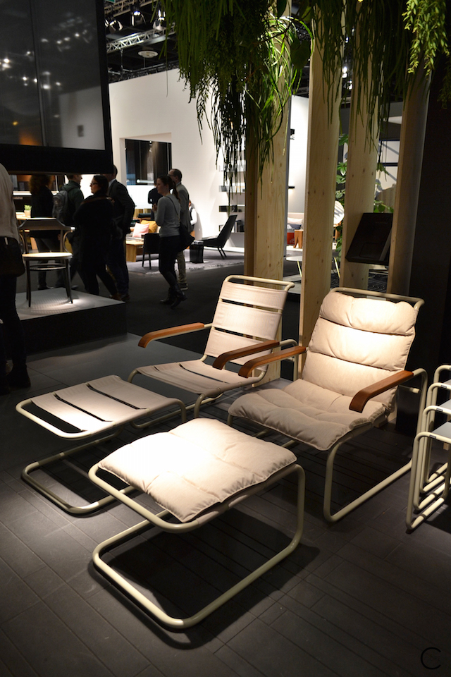 Thonet IMM Cologne 2016 S 35 Mart Stam outdoor
