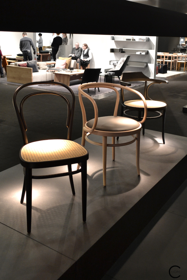 Thonet IMM Cologne 2016| Classic 209 + 214 | picture by C-More