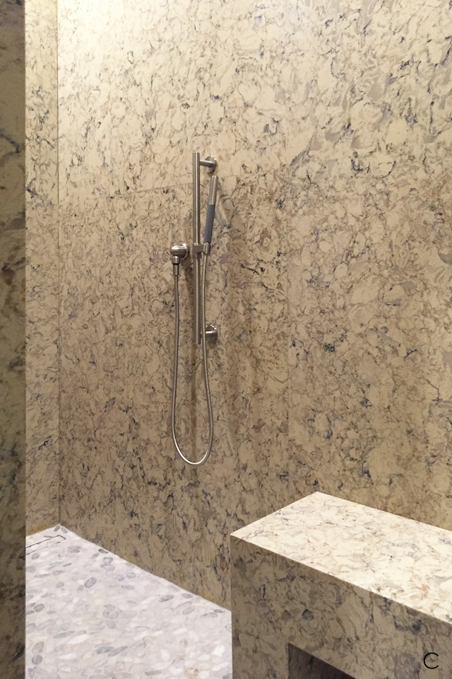 BlogtourKBIS 2016 | Las vegas | Kitchen and bathroom trends | Marble trend | Marble and Stone dessin New American Home 2016 | picture by C-More