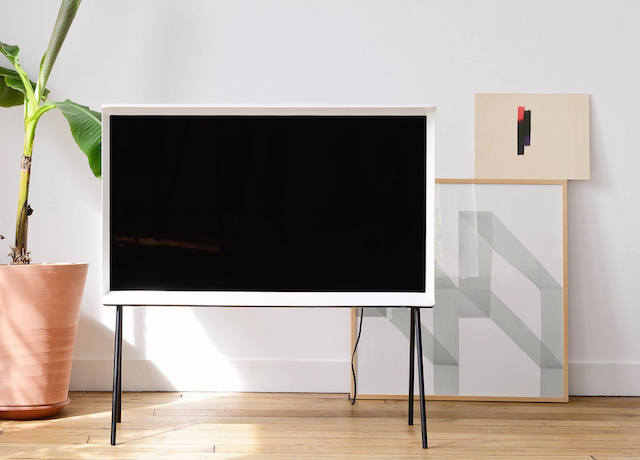 Serif TV | Design by Bouroullec | Samsung | Vitra | Photo via Samsung