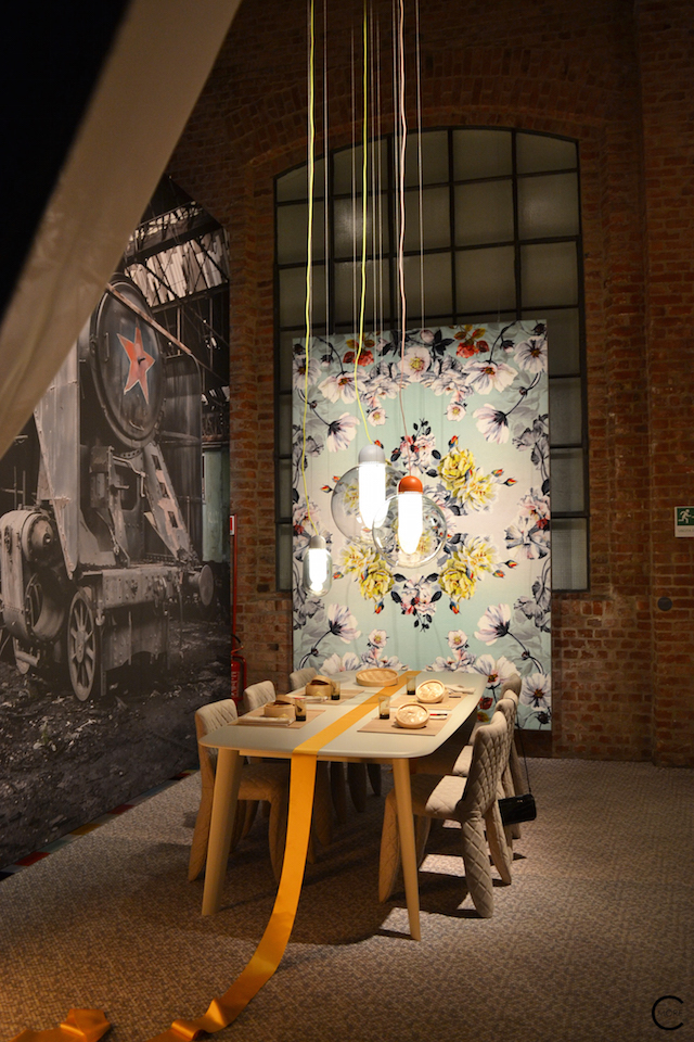 Behind the scenes furniture setting | Moooi Milan Designweek 2016 by C-More