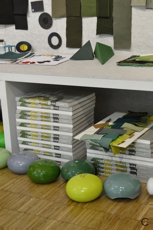 I don't have a favourite colour | Book | Casa Vitra Milan 2016 | Expo colors by Hella Jongerius | by C-More