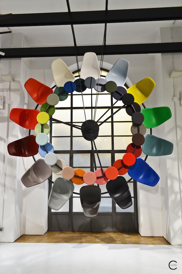Color wheel   Casa Vitra Milan 2016   Expo colors by Hella Jongerius   by C-More